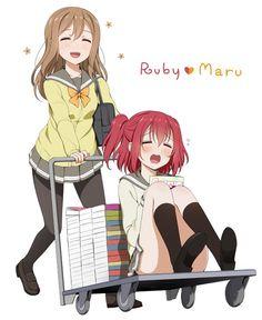 Kunikida Hanamaru y kurosawa ruby   Love Live sunshine
