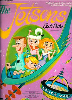The Jetsons Cut Outs (c.1963) Cover is neat looking..
