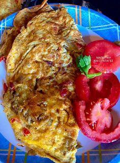 Ομελέτα με μανιτάρια πλευρώτους !!! ~ ΜΑΓΕΙΡΙΚΗ ΚΑΙ ΣΥΝΤΑΓΕΣ 2 Lasagna, Tapas, Eggs, Meat, Chicken, Ethnic Recipes, Food, Egg, Meals
