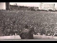 """""""Hasta siempre Comandante""""- Silvio Rodriguez (Con discursos del Che). Ernesto Guevara de la Serna, Che Guevara, è stato un rivoluzionario, guerrigliero, scrittore e medico argentino.  Nato il 14 giugno 1928 a Rosario, Argentina. Ucciso da militari boliviani il 9 ottobre 1967 a La Higuera, Bolivia. Luogo di sepoltura: il 17 ottobre 1997, Mausoleo Che Guevara, Santa Clara, Cuba. I suoi libri più famosi: Latinoamericana, La guerra di guerriglia."""
