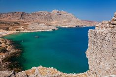 Heraki Beach, Rhodes, Greece http://www.yourcruisesource.com/two_chefs_culinary_cruise_-_istanbul_to_athens_greek_isles_cruise.htm