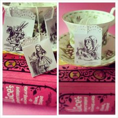 Mad Hatters Tea Party Tea Bags  Set of 6  by TheVintageCakeStand, £4.00