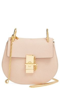 chloe medium drew lambskin leather shoulder bag