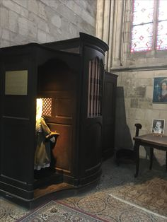 Confessional in St Peters Cathedral used by Thérèse