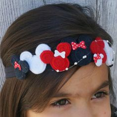 Bohemian Minnie Crown. Minnie Mouse Headband. by Disneypretties