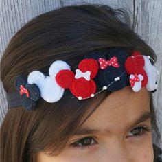 Bohemian Minnie Crown. Minnie Mouse Headband. by Disneypretties