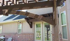 timber frame DIY awning kit