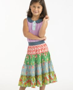 Tween Main Street Skirt