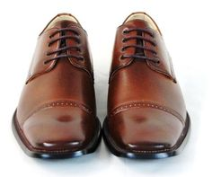 Majestic Designer Dress Oxford Shoes Brown