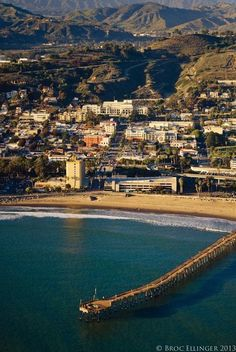 Ventura Beach, California by Brock Ellinger next to the fairgrouds...American Home & Garden is up the street on Oak!!