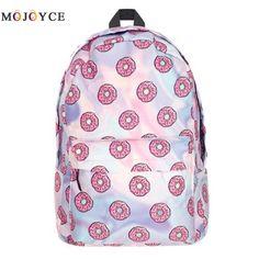 QOKR women fruit printing backpacks oxford rucksacks for school bags teenage girls pink travel bag zaino mochila escolar brand New School Bags, Fruit Print, Mini Backpack, Fashion 2017, Travel Bag, Pink Girl, Emoji, Fashion Backpack, Oxford