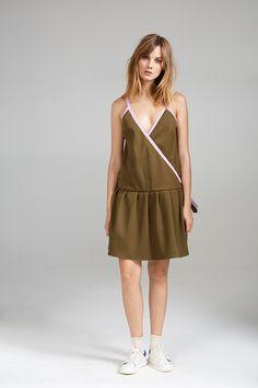 OVERLAP TENNIS DRESS Tennis Dress, Women Wear, Contemporary, Collection, Dresses, Fashion, Vestidos, Moda, Fashion Styles
