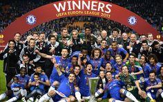 Chelsea campeão Liga Europa  (Foto: AFP)