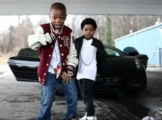 Lil niqo and lil P-nut. Them together they might become a good group.