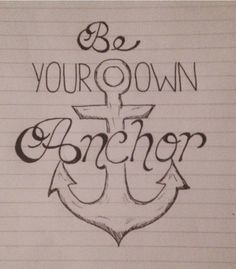 "quick doodle inspired by Melissa McCall in ""Anchors""..."