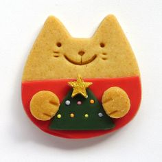 Meow Meow Cookie - Christmas Tree
