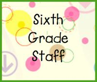 "Welcome! This board is an awesome resource for any 6th grade teacher. Just click on the ""Sixth Grade Staff"" icon near the bottom of webpage."
