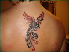 Here we collect the list of 40 Best Phoenix Tattoo Designs For Boys And Girls. The phoenix stands for resurrection and so the phoenix tattoo is incredibly fashionable. The phoenix gets back to life once meeting its final line. Simple Phoenix Tattoo, Rising Phoenix Tattoo, Phoenix Tattoo Design, Phoenix Tattoos, Love Tattoos, Tribal Tattoos, Tatoos, 3 Tattoo, Different Tattoos