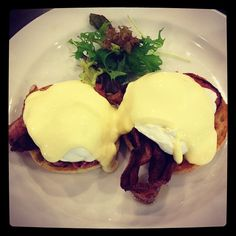 Australian eggs Benedict breakfast! :D - @marcuspang- #webstagram