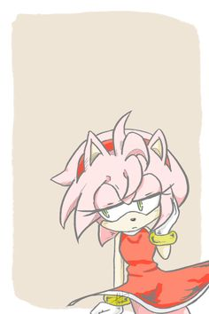 Hellooooo luvies~ decided to upload a little something for you guys. See, I've recently gotten back to the Sonic fandom so I drew my fave character, Amy. Amy Rose, Amelia Rose, Sonic The Hedgehog, Cute Hedgehog, Shadow The Hedgehog, Kaito, Sonic Franchise, Sonic And Amy, Sonic Fan Characters