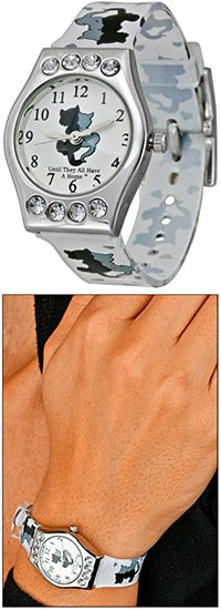 Until They All Have a Home™ Kitty Bling Watch at The Animal Rescue Site