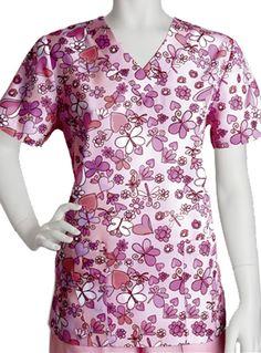 41efcab355f Barco ICU Junior Camille Four-Pocket V-Neck Print Scrub Top Item #:  BA-71163CM view details