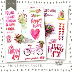 Oh Happy Day Elements || Illustrated Faith