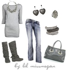 50 shades of grey by lilmissmegan on polyvore