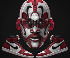 Awesome Sneaker-Art by Designer Jeff Cole