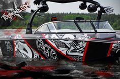 Boat wrap Toyskinz.com