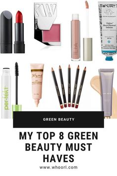 I know jumping into the green beauty world can seem a bit overwhelming at times (do you remember how I started?), but I'm here to take it down a notch for ya. Trust me when I say I've tried a ginormous amount of green beauty products, and this list you are about to digest contains the bee's knees in terms of natural beauty. #beauty #greenbeauty #makeup #skincare