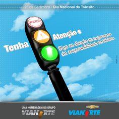 Vianorte - Dia Nacional do Trânsito