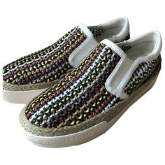 Pre-Owned Ash \n Multicolour Leather Trainers Ash Shoes, Leather Trainers, High Top Sneakers, How To Wear, Shopping, Women, Style, Fashion, Moda