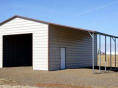 Metal and steel garages: metal buildings of choice When old within strategy, the particular pergola Steel Garage Buildings, Garage Roof, Metal Garages, Pole Buildings, Dormer Roof, Backyard House, Roof Colors, Gambrel, Pergola With Roof