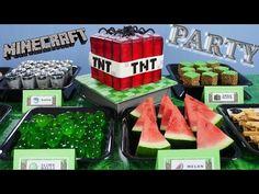 Minecraft EDIBLE slime balls, grass blocks TNT   How To Cook That Ann Reardon - YouTube