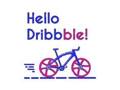 Dribbble bike