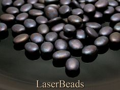 12mm Czech Pressed Glass Beads Matte Amethyst with by LaserBeads, $2.46
