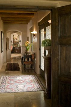 Traditional Santa Fe Style Home - traditional - dining room - albuquerque - Tierra Concepts Santa Fe