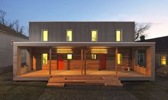 Deanwood Duplicate: A Solar Decathlon house makes waves. - Best Green Houses - Greensource Magazine