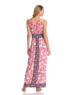 London Times Women's Matte Jersey Print Dress -   Buy New: $89.00