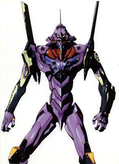 Neon Genesis Evangelion - Eva 01 #NeonGenesisEvangelion
