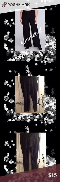 LaNe BRYaNT Wide Leg Active Workout Pants ~ 22/24 Very cute and in excellent used condition. Typical wash fade. Free of any stains, rips/tears.   🚫🚭 No smoking 🚫🚭 🚫🐶🐱 No pets 🚫🐶🐱 Lane Bryant Pants Wide Leg