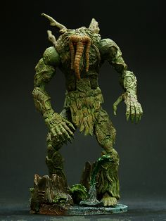 this is the toybiz Marvel Legends Series 8 Man-Thing he is a must have and a essential member of the heroic age thunderbolts because he is their form of transportation happy pinning
