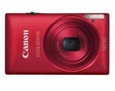 180.51Eur. CANON IXUS 220HS Roja 12, 1Mpx 5x (5100B008AA)                iOSC QR IceCat