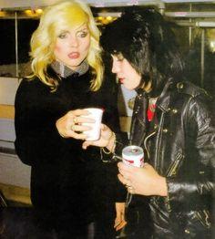 Debbie Harry and Joan Jett.