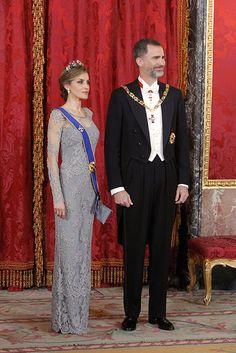 Queen Letizia of Spain wears glittering tiara for gala - Photo 6 | Celebrity news in hellomagazine.com