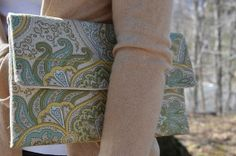 Spring Sprout Clutch, $30 by Unshattered on Etsy. Your purchase supports women at the Walter Hoving Home rebuilding their lives shattered by addiction. Check us out at Unshattered.org!
