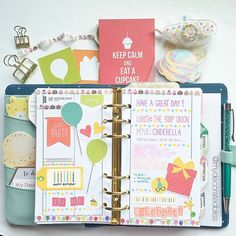 Happy Birthday To me #planner #plannerlove #planneraddict #plannerjunkie #plannergoodies #filofax #filofaxgoodies #kikkik #kikkikplannerlove #diyfish #simplestories #stationery #stationeryaddict #stickers #decoratedpages #mydecoratedbliss