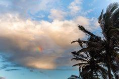 Arc en ciel sur La Réunion Clouds, Outdoor, Vacation Resorts, Outdoors, Outdoor Games, The Great Outdoors, Cloud