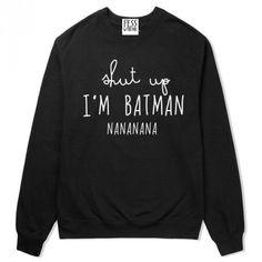 I'M Batman - FESSWYBITNIE - Bluzy
